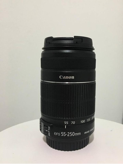 Lente Canon 55-250mm F/4 - 5.6 Is Ii
