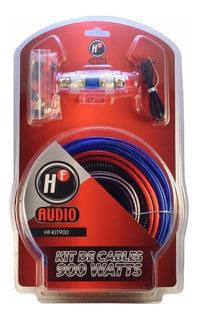Kit De Cables Calibre 8 Instalacion Amplificador Woofer Auto