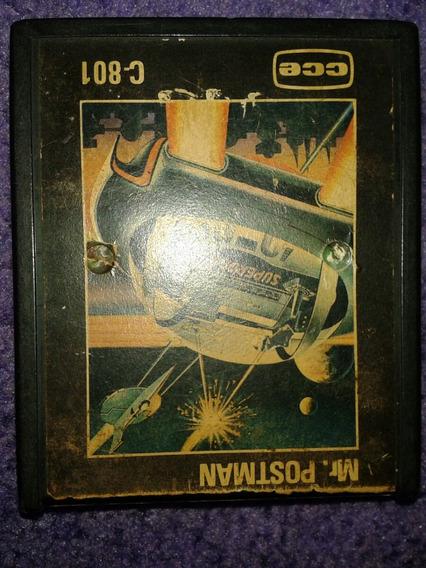 Cartucho Atari Cce Mr Postman Funcionando Anos 80