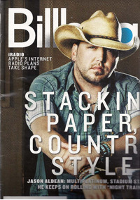 Revista Billboard: Jason Aldean / Nelly Furtado / Pet Shop B