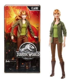 Boneca Claire 30cm Jurassic World Barbie Signature - Mattel