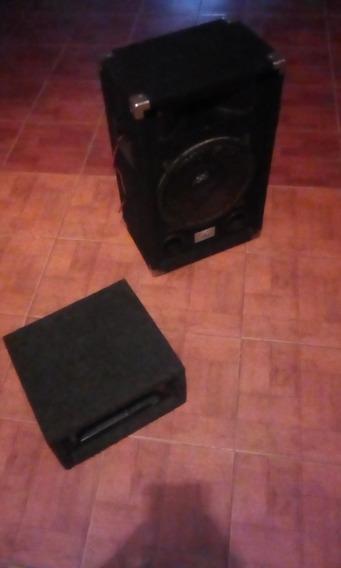 Caja Con Bajo Z 12 300 Watts Y Tweeter Tech 4 X10