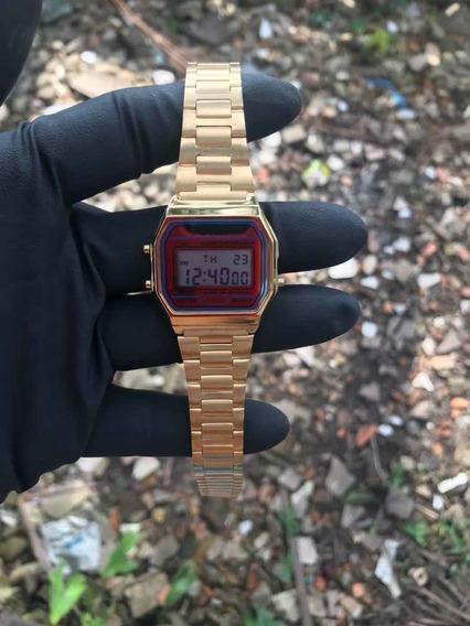 Relógio Unissex Vintage 1123 Gold