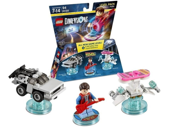 Lego Dimensions Back To The Future Level Pack 71201 Lacrado