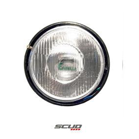 Farol Bloco Optico Ybr 125 2000 A 2004 Sem Lampada - Scud