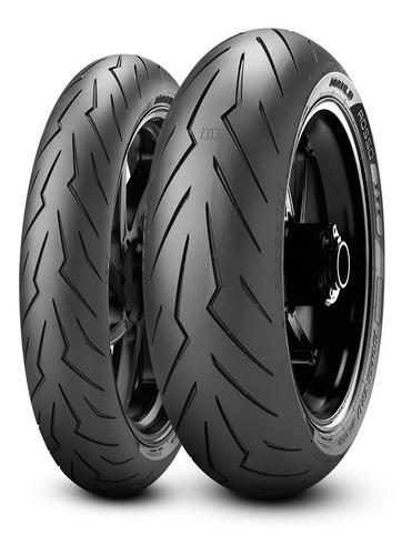 Llanta Moto 140/70 R17 Radial Pirelli Diablo Rosso Fz Pulsar