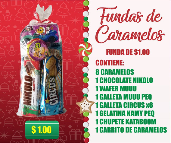 Fundas De Caramelos Navideñas Al Por Mayor Y Menor.
