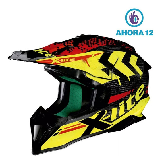 Casco Enduro X-lite Nolan X-502 Ultracarbon Nac-nac Ahora 12