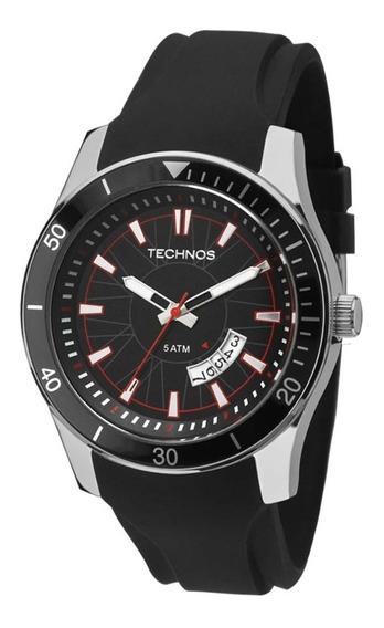 Relógio Technos Masculino Performance 2115ksn/8p - Prata