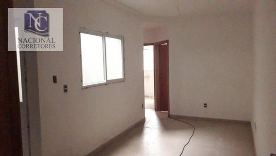 Apartamento Com 2 Dormitórios À Venda, 38 M² Por R$ 235.000,00 - Campestre - Santo André/sp - Ap9082