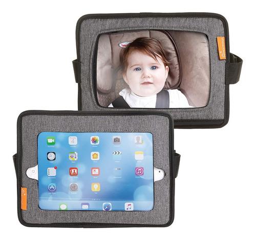 Espejos De Asiento Y Soporte iPad 2 En 1 Dreambaby L1215