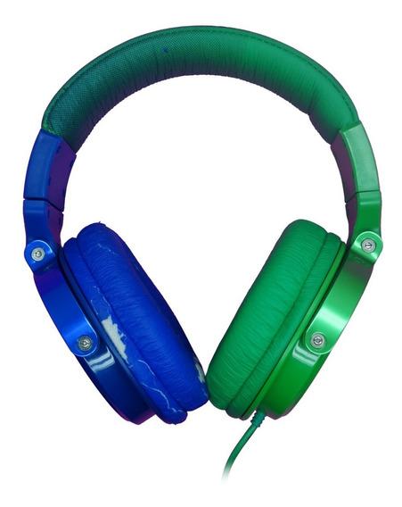 Fone De Ouvido Hipster Tm-611mv/2-3 Verde/azul Chilli Beans