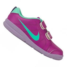 Tênis Infantil Nike Pico Lt Roxo Menina 619045503 Original