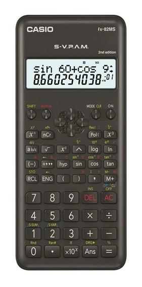 Calculadora Científica Casio Fx 82-ms Original 240 Funções