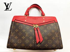 abac5d2c4 Bolsa Louis Vuitton Para Dama Sully Pm Monogram / Roja Piel