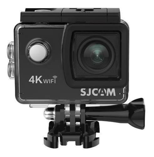 Camera De Acao Sjcam Sj4000 Air 4k Wifi Nova + Cx Estanque