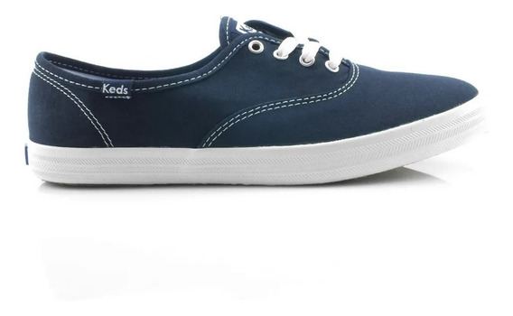 Tênis Keds Champion Woman Canvas Marinho - Kd100142