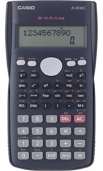 Calculadora Científica Bolso Casio Fx-82 Ms 240f Data Editor