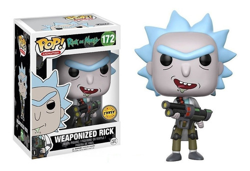 Funko Pop! Rick And Morty # 172 - Weaponized Rick Chase