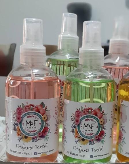 Perfume Textil De 250 Ml Concentradas Variedad De Fragancias