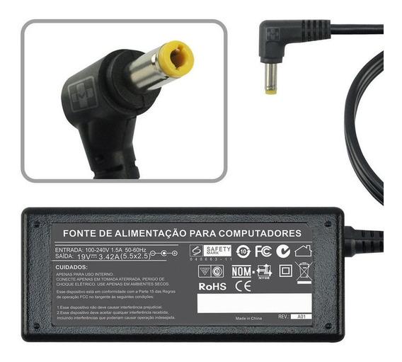 Fonte Carregador Para Notebook Intelbras I541 I34 I680 I3 P8