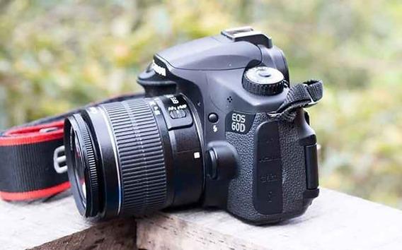 Câmera Canon 60d Corpo Pouco Usada Com Menos De 12k
