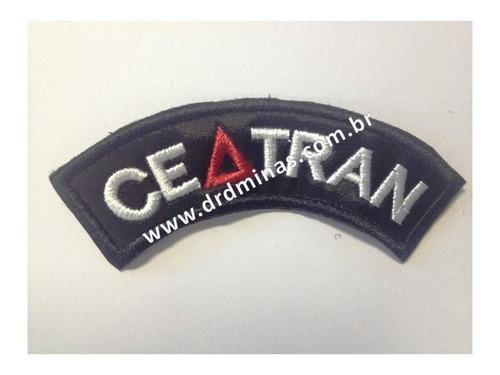 Patch / Distintivo Bordado Ceatran - U