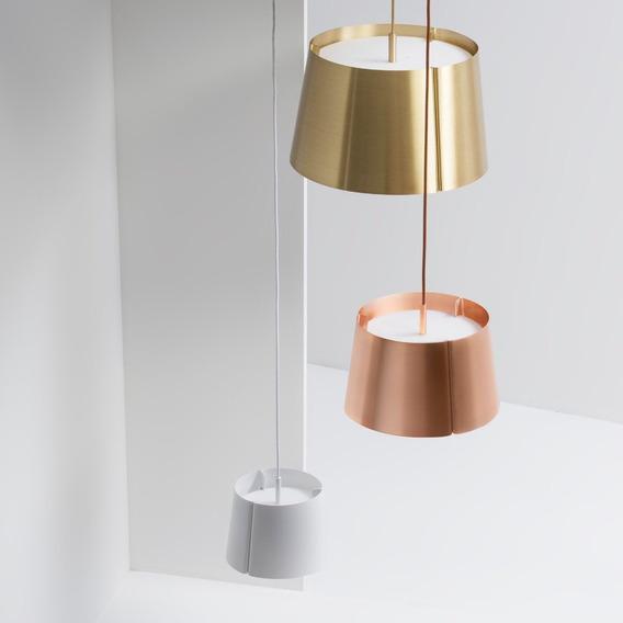 Lámpara De Suspensión De Latón Lindvall G Diseño Moderno