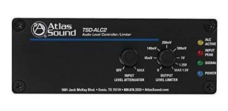 Amplificador Atlas Sound Audio Level Controlador Limiter ®