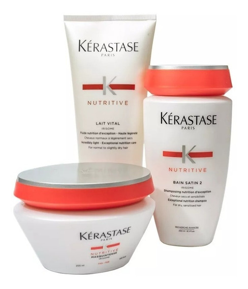 Kerastase Kit Nutritivo Shampoo + Acondicionador + Mascara