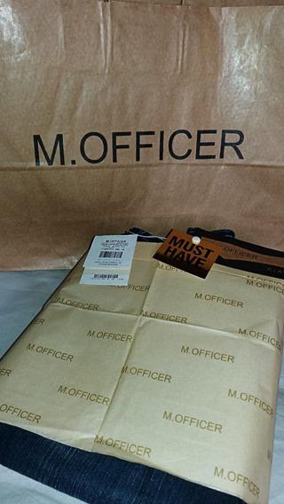 Calça Flare M. Officer 38 Nova C/ Etiquetas Modelo Curvesfit