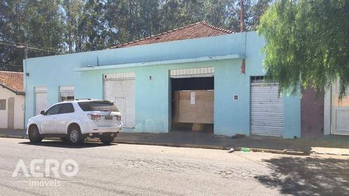 Barracão Na Vila Independencia, Com Ótima Localização, De Facil Acesso, Contendo Aproximadamente 276m² - Ba0201