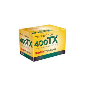 Filme Kodak 36 Poses Preto E Branco 35mm Tri-x Pan Iso 400