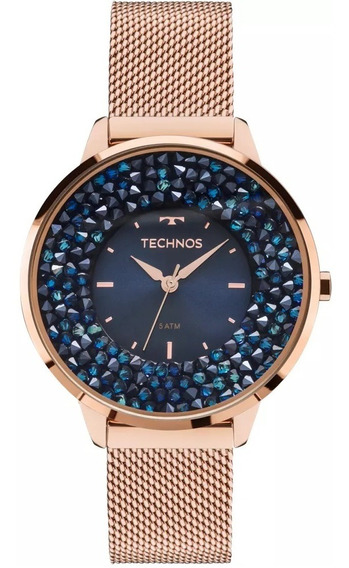 Relógio Technos Feminino Elegance Crystal 2035mle/4a