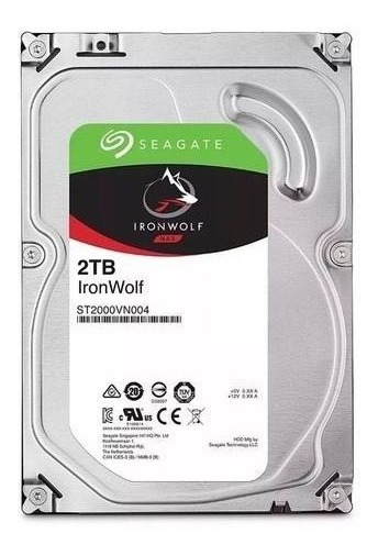 Hd 2tb Ironwolf Barracuda Nas St2000vn004 5900rpm