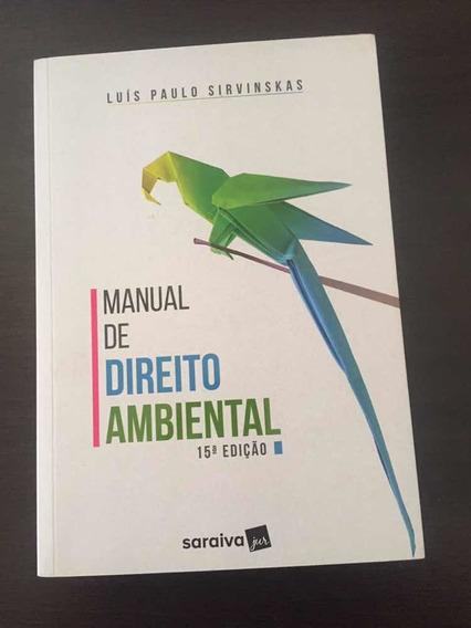 Manual De Direito Ambiental, 15 Edição