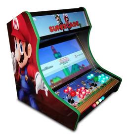 Mini Arcade Fliperama Bartop Medidas E Corte Cnc - Projeto