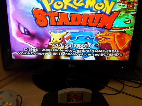 Fita Pokemon Stadium Nintendo 64