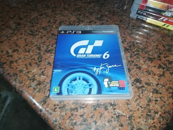 Jogo Gran Turismo 6 (semi-novo)