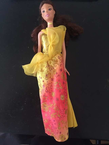 Muñeca Princesa Bella Barbie Disney