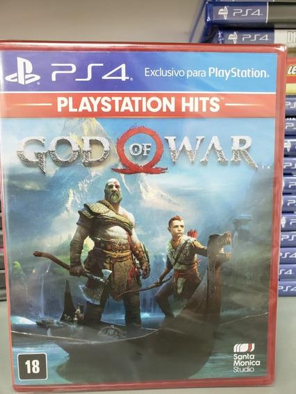 Jogo God Of War 4 Ps4 Mídia Física Novo 100% Português