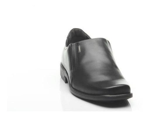 Sapato Social Couro Preto Masculino Pegada Moda Evangelhica