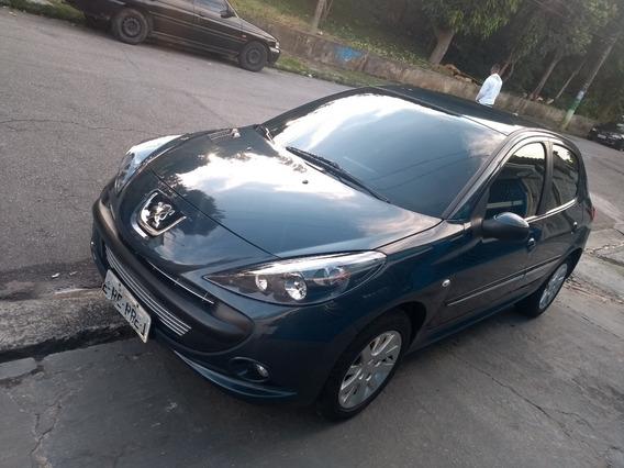 Peugeot 207 Xs 1.6 16v Completo Ano 2012 Azul Bourrusque