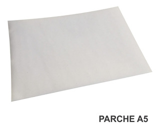 Parche Sublimable Termoadhesivo A5 Med 21x14,5cm X5 Unidades