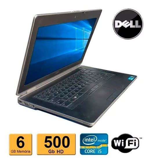 Notebook Dell Latitude E5430 I5-3210m 6gb 500gb