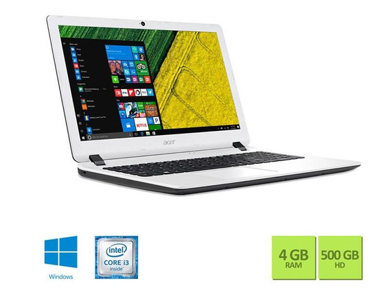 Notebook Acer Intel Core I3 6006u 4gb 500gb Win10 15.6 Hd