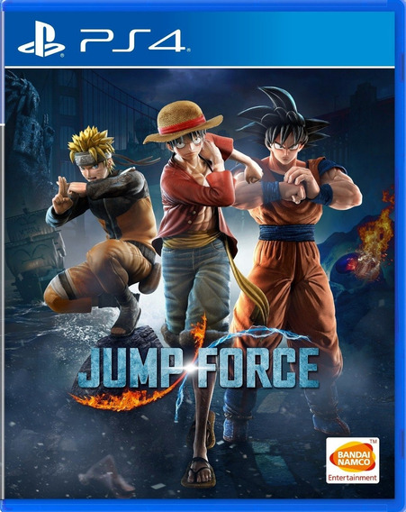 Jump Force Ps4 Mídia Física Pronta Entrega