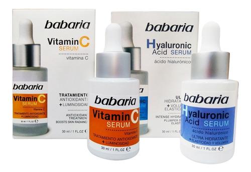 Babaria Serum Vitamina C Antioxidante 30, Hialuronico 30 Ml