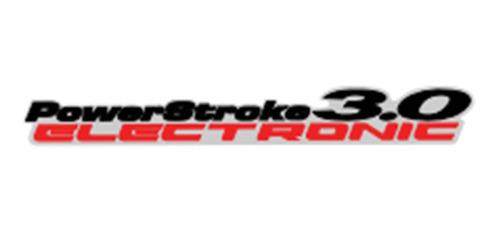 Calco Adhesivo Power Stroke Lateral Ranger 2010
