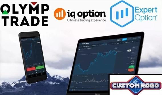 Robô Estratégias Iq Option E Olymp Trade Opções Binárias